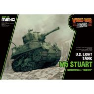 WWT-012 U.S. Light Tank M5 Stuart (Cartoon)