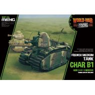 WWT-016 French Heavy Tank Char B1 (Cartoon)