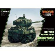 WWT-008 British Medium Tank Sherman-Firefly (Cartoon)