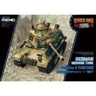 WWT-007 German Medium Tank PzKpfw V Panther (Cartoon)