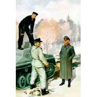 World War II era Series, German tank crew (1943-1945) Kit No2 1:35