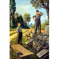 World War II era Series, German tank repairmen (1940-1944) 1:35