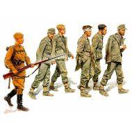 World War II era Series, German Captives 1944 1:35