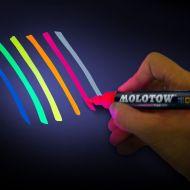 UV Pump Softliner 1mm Usynlig Blå