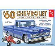 AMT 1960 Chevy Custom Fleetside Pickup w/Go Kart 1:25