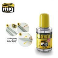 AMIG2038 Medium Dense Cement Slow Dry 30ml.