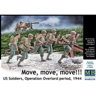 U.S. Soldiers, Operation Overload period 1944 1:35 35130