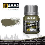 AMIG0609 Drybrush Medium Olive Green 40ml.