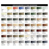 Vallejo Model Air color chart