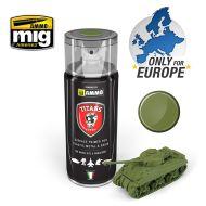 TTH108 Titans Hobby Military Green Matt Primer 400ml