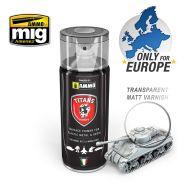 TTH110 Titans Hobby Transparent Matt Varnish / Base 400ml