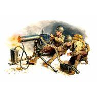 World War II era Series, U.S. Machine-Gunners 1:35