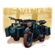 Vehicles Series, German motorcycle, WWII 1:35