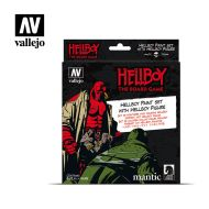 70.187 Hellboy sæt 8 x 17ml + figur