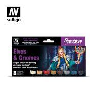 70.242 Elves & Gnomes sæt 8 x 17ml