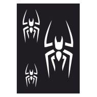 Selvklæbende Tattoo stencil. Spider