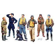 World War II era Series, Famous pilots of WW II. Kit 1 1:32