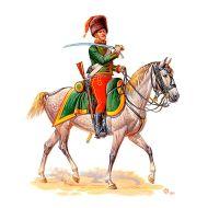 Napoleonic War Series, French Hussar 1:32