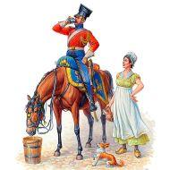 Napoleonic War Series, Napoleon's Red Lancer 1:32