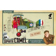 SUYATA SK-002 Sopwith Camel & Brownie - Full Interior