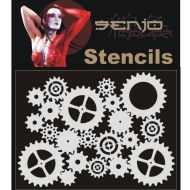 Senjo Color Gears Stencil