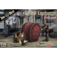 DW35015 German Kugelpanzer (2 Kits Pack) 1:35