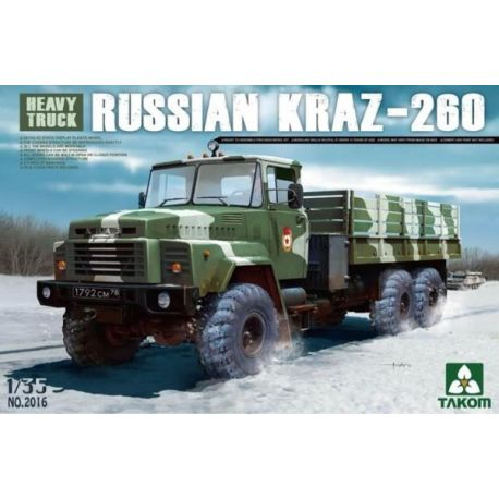 Heavy Truck Russian KRAZ-260 1:35