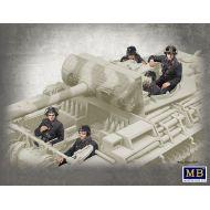 World War II era Series, German Tank Crew, 1944-1945 1:35
