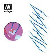Vallejo Plastic Tweezers x5 T12006