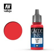 72.086 Red Ink 17ml.